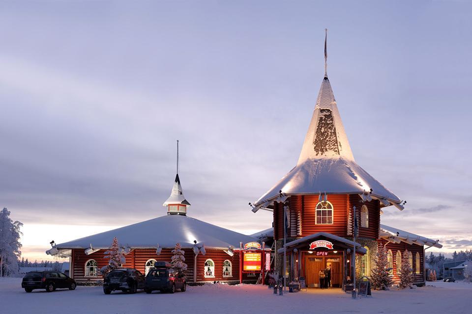 Rovaniemi Finlandia Villaggio Di Babbo Natale.Rovaniemi A Casa Di Babbo Natale Inscandicci